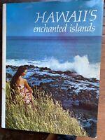 HAWAII S ENCHANTED ISLANDS,1969,Jim Sharp,Illust, DJ First ed, First printing