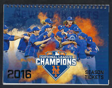 2016 MLB NEW YORK METS BASEBALL PARTIAL PLAN UNUSED TICKETS 20 GAMES X 4 TICKETS