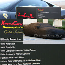 2010 2011 2012 VOLVO S60 WATERPROOF CAR COVER W/MIRROR POCKET BLACK
