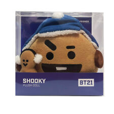 OFFICIAL BT21 CHRISTMAS PLUSH DOLL STANDING DOLL SHOOKY