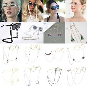 New Eyeglass Glasses Strap Sunglasses Chain Beaded Cord Holder Neck Lanyard Lot
