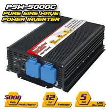 5000 Watts Pure Sine Wave POWER INVERTER 12V DC to 110V AC ( PSW-5000C )