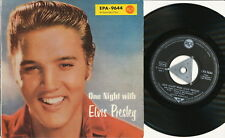 "Elvis Presley EP deutsche RCA EPA-9644 ""One Night with Elvis Presley"""