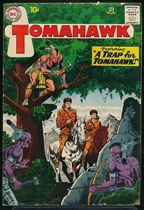 TOMAHAWK No. 66 1960 DC Western Comic Book A TRAP for TOMAHAWK 4.0 VG