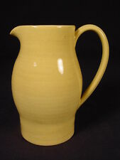 RARE SIGNED WEDGWOOD PITCHER YELLOW WARE MINT