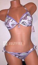 VICTORIA'S SECRET BEACH SEXY THE FABULOUS ITSY PUSH UP PADDED SWIM SET, 34A-XS