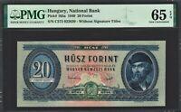 Hungary 20 Forint 1949 - PMG 65 EPQ GEM UNC