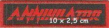 Annihilator - logo patch - FREE SHIPPING