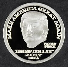 2017 NORFED PRESIDENT DONALD TRUMP 1 oz .999 SILVER $25 DOLLAR MAGA COIN