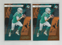 RYAN TANNEHILL (Miami Dolphins) 2017 PANINI ABSOLUTE FOOTBALL CARD #36