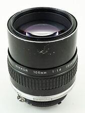Nikon NIKKOR 105mm f/1.8 Ai-S Manual Focus Lens