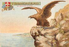 2205) 1 REGGIMENTO ALPINI. CARTOLINA FORMATO GRANDE.