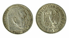 pcc1840_59) GERMANY THIRD REICH 5 Reichsmark 1936  SILVER