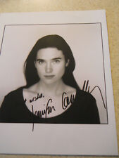 Jennifer Connelly signed Best Wishes black and white 8 x 10 photo