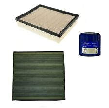 Engine Oil & Air Paper Cabin Filter Kit ACDelco Pro For Chevy Escalade 6.0L V8