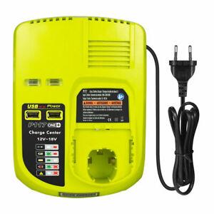 Chargeur Pour Batterie RYOBI One Plus + 12V 18V BCL1418 260051002 P113 P117 P118