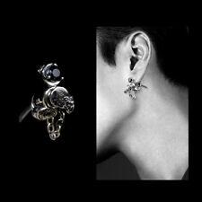 Mens stud earrings, sword earrings in 925 sterling silver, stud earrings men