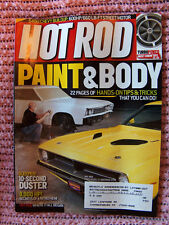 Hot Rod, mag,  May 2008,10 second Duster, paint & body 22 pages of tips & tricks