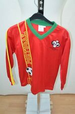 Portugal WORLD CUP 2006 MAILLOT T SHIRT FOOT FOOTBALL JERSEY 12 ANS ROUGE