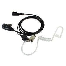 Retevis 2Pin PTT MIC Covert Acoustic In-ear Earpiece Headset for KENWOOD US Ship