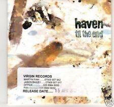(C224) Haven, Til The End - DJ CD