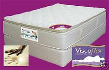 DOUBLE Pocket DUNLOP Visco Flex & Latex P/Top Mattress