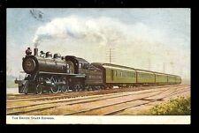 Railway American Railroad The Empire State Express Tuck Oilette #9316 1907 PPC