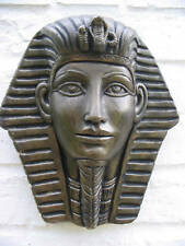 EGYPTIAN KING WALL-HANGING MASK - GARDEN ORNAMENT