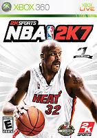 2K Sports NBA 2K7 (Microsoft XBOX 360 Live) Video Game with Manual