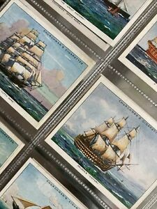 "Churchman Cigarette Cards 1937 ""The Story Of Navigation"" Full Set L12"