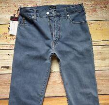 NEW AJ Armani Jeans W31xL33 Regular Fit High Waist Regular Leg Cotton