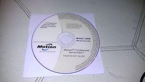 Motion Computing J3500  Windows 7 Recovery & Drivers