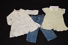 3-pc Lot Jacadi Ralph Lauren Janie and Jack Dress & Pants 6 - 12