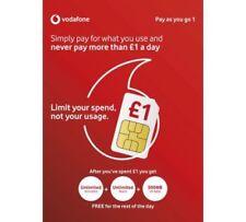 Vodafone Pay As You Go - Includes Standard, Micro & Nano Triple SIM Card