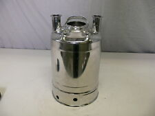 Alloy Products 316L Stainless Steel 10 Liter Pressure Vessel Tank 155PSI
