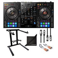 Pioneer DJ DDJ-800 2 CH Rekordbox DJ Controller AXC Laptop Stand, Cables, Cloth