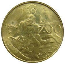 (d35) - SAN MARINO - 200 LIRE 1994-Marinus con orsi FAO-au-km # 313