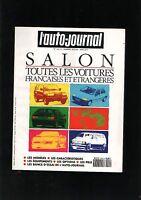 L'AUTO-JOURNAL  N° SPECIAL SALON 1990