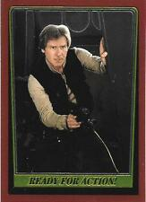 1999 Topps Star Wars Chrome Archives #81 Ready For Action! > Han Solo