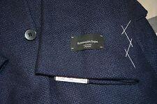 $3895 NWT Ermenegildo Zegna Couture Sportcoat Blazer Cashmere Silk 46R 46 R