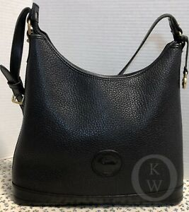 VINTAGE~Dooney & Bourke*AWL Black*P152*Large Hobo Bag*Shoulder Bag*19110K S133
