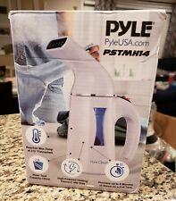 BNIB PYLE HOME PSTMH14 WHITE PORTABLE TRAVEL GARMENT AND FABRIC STEAMER DEAL!!