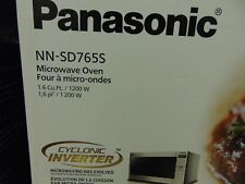 Panasonic Prestige Plus Countertop Microwave - 1.6 Cu. Ft.-Stainless (NN-SD765S)