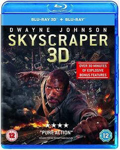 Skyscraper 3D + 2D (3D Blu-ray) Brand New and Sealed