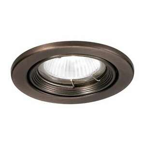 WAC Lighting Recessed Low Voltage Trim Metal Trim Ring - HR-836-CB