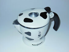 For Parts* Bialetti Mukka 2-Cup CRACKED CARAFE+Good Handle/Lid/Tab/Filter/Gasket