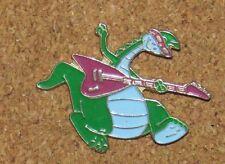 B12 Pin Bd Cartoon Comic Dragon Guitar