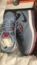 NIKE New Women's Zoom Winflo 4 Running Shoe Glacier Grey/Obsidian 8.5