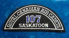 CANADA Royal Canadian Air Cadets SASKATOON 107 squadron shoulder flash