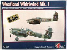 Westland Whirlwind Mk.I 1/72 Pavla Models 72037 Rare!